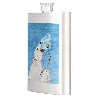 Porta Bebida Urso polar com Marshmallow brindado