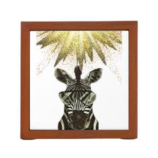 Porta Caneta Animal do estilo da zebra do hipster