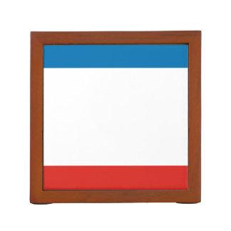 Porta-caneta Bandeira de Crimeia