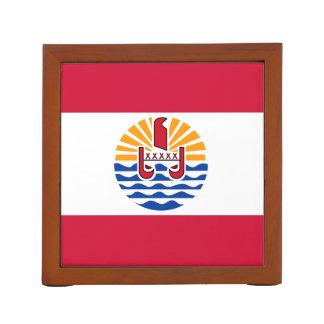 Porta Caneta Bandeira de Polinésia francesa