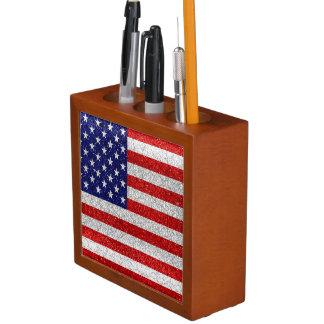 Porta-caneta Bandeira suja dos EUA