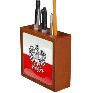 Porta Caneta Brasão polonesa