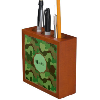 Porta-caneta Camuflagem