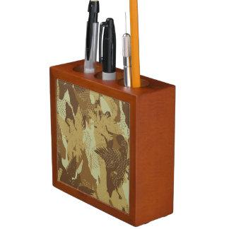 Porta-caneta Camuflagem da águia do deserto