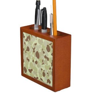 Porta-caneta Camuflagem do deserto de Auscam