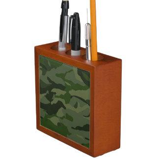 Porta-caneta Camuflagem Khaki