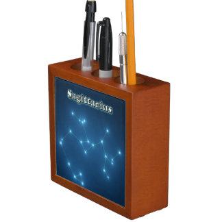 Porta-caneta Constelação do Sagitário