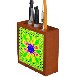 Porta-caneta Criar seu próprio bonito bonito colorido de Hakuna