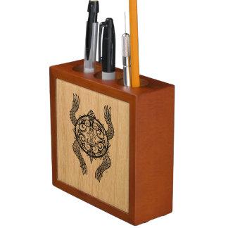 Porta-caneta Desenho da tartaruga