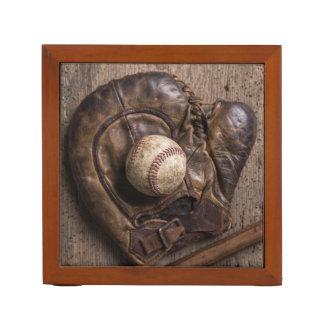 Porta Caneta Equipamento de basebol do vintage