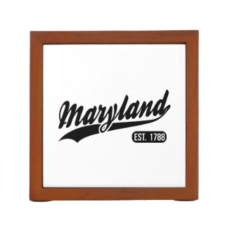 Porta-caneta Estado de Maryland