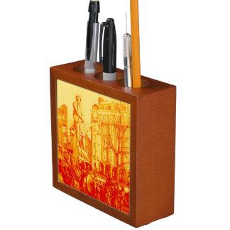 Porta-caneta estátua Amsterdão holland de rembrandt