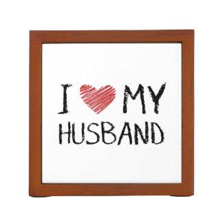 Porta Caneta Eu amo meu marido