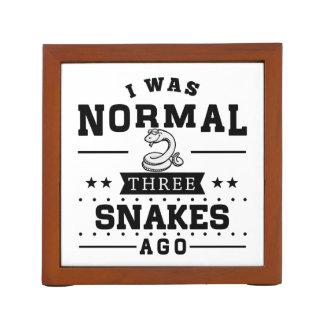 Porta Caneta Eu era três cobras normais há