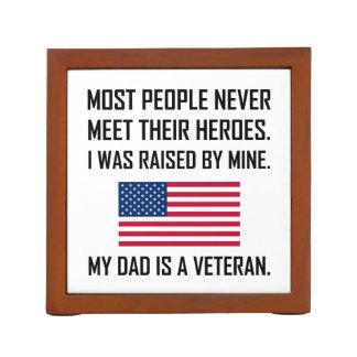 Porta Caneta Heróis da reunião meu pai um veterano