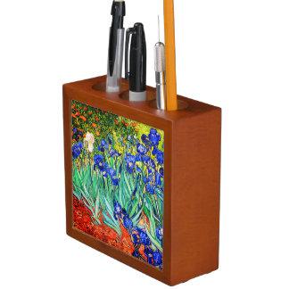 Porta Caneta Íris por Vincent van Gogh