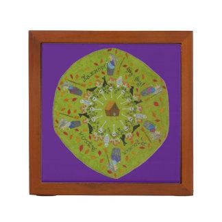Porta-caneta Mandala de Yaga do babá