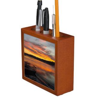 Porta-caneta Manhã de Orangelicious
