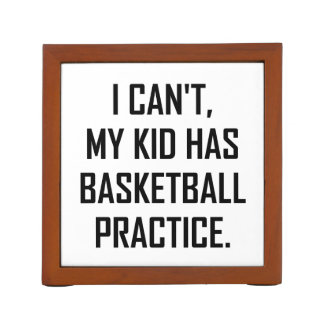 Porta Caneta Meu miúdo tem a prática do basquetebol engraçada