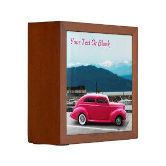 Porta Caneta O americano famoso do costume 1940 faz o sedan