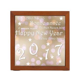Porta Caneta O feliz ano novo 2017