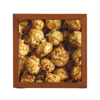 Porta Caneta Organizador da mesa da pipoca do caramelo