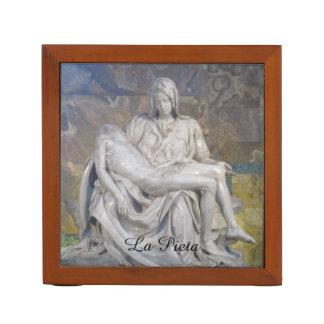 Porta Caneta Organizador da mesa--Pieta do La