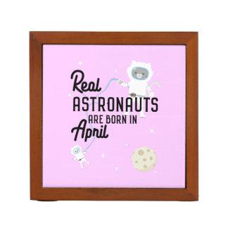 Porta Caneta Os astronautas são em abril Zg6v6 nascidos