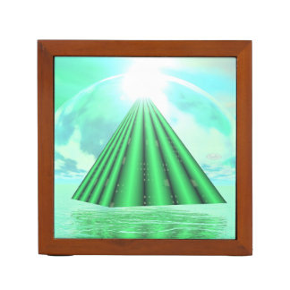 Porta-caneta Pirâmide Mystical - 3D rendem