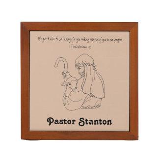 Porta-caneta Presente da apreciação do pastor