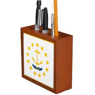 Porta-caneta Rhode - bandeira da ilha