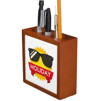 Porta-caneta Sol legal dos sunglass