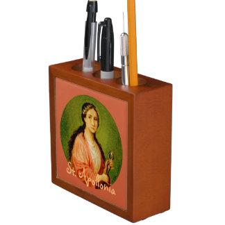 Porta-caneta St. Apollonia da imagem dobro (BLA 001)