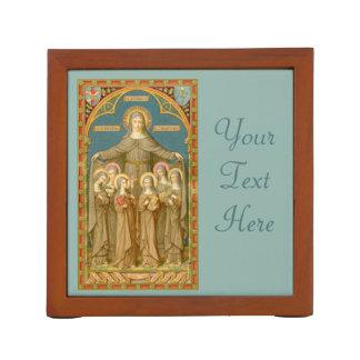 Porta Caneta St. Clare de Assisi (parte dianteira) com as