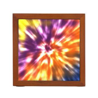 Porta Caneta Tintura retro Boho colorido do laço da paz do