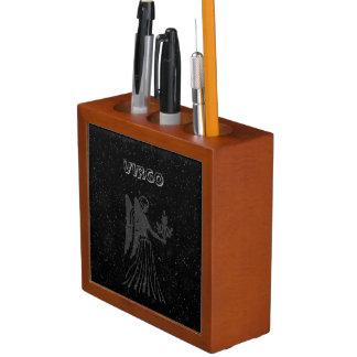 Porta-caneta Virgo translúcido