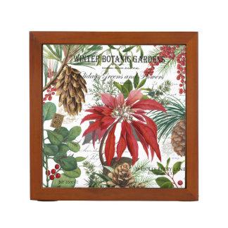 Porta Caneta Wintergarden moderno do vintage floral