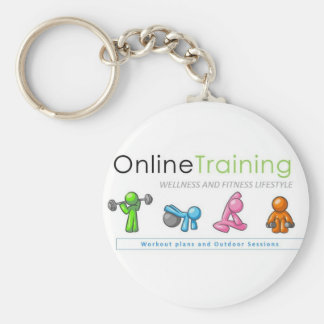 Porta-chaves de Online Training Fitness Lifestyle