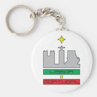 Porta-chaves Monumentos de Lisboa-Portugal