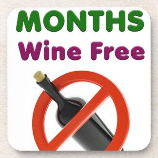 Porta-copo 9 meses de vinho livram, mamã grávida, presente da