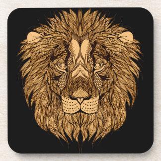 Porta-copo A cabeça do leão