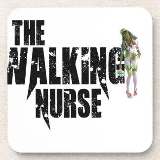 Porta-copo A enfermeira de passeio