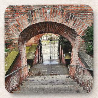 Porta-copo A entrada da fortaleza