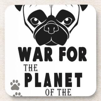 Porta-copo a guerra para o planeta dos pugs refrigera o cão