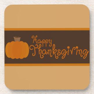Porta-copo Abóbora de outono feliz da acção de graças