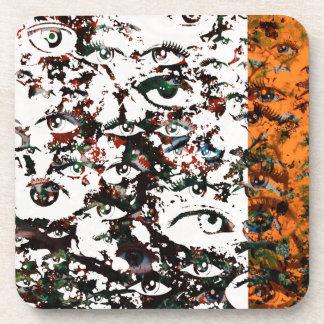 Porta-copo Abstrato do visionário
