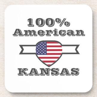 Porta-copo Americano de 100%, Kansas
