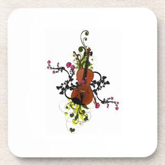 Porta-copo Amor do violino