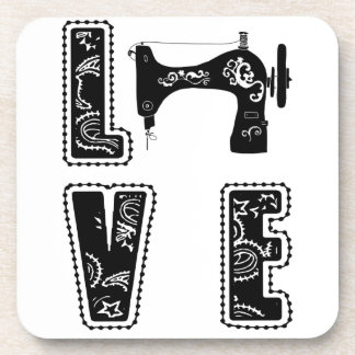 Porta-copo amor para sewing