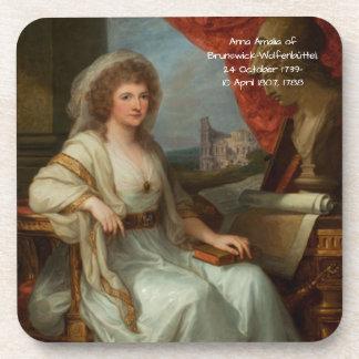 Porta-copo Anna Amalia de Brunsvique-Wolfenbuttel 1788